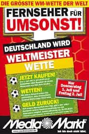 Conditional Rebate Sport-Promotion absichern Media Markt