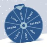 100.000€ Weihnachtsfeier-Tombola