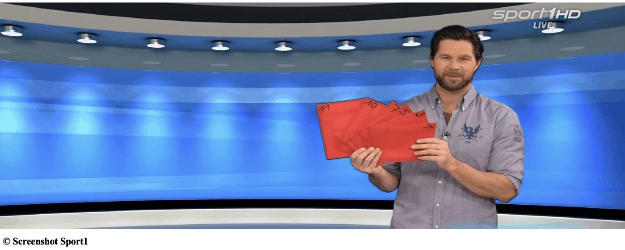 Umschlag-Gewinnspiel auf Sport1