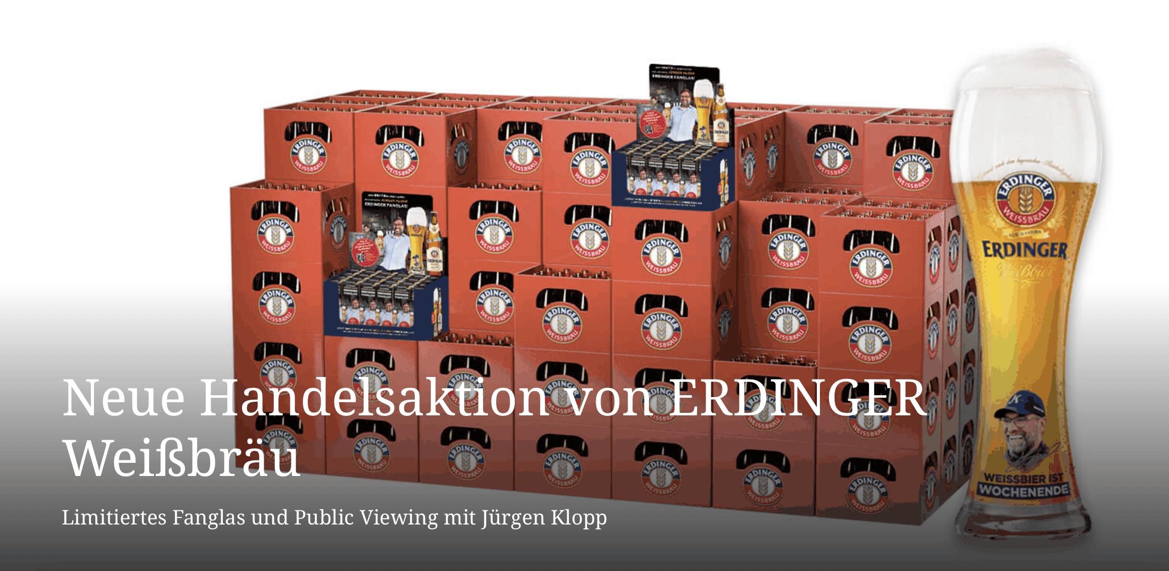 Erdinger POS-Zugabe-Promotions