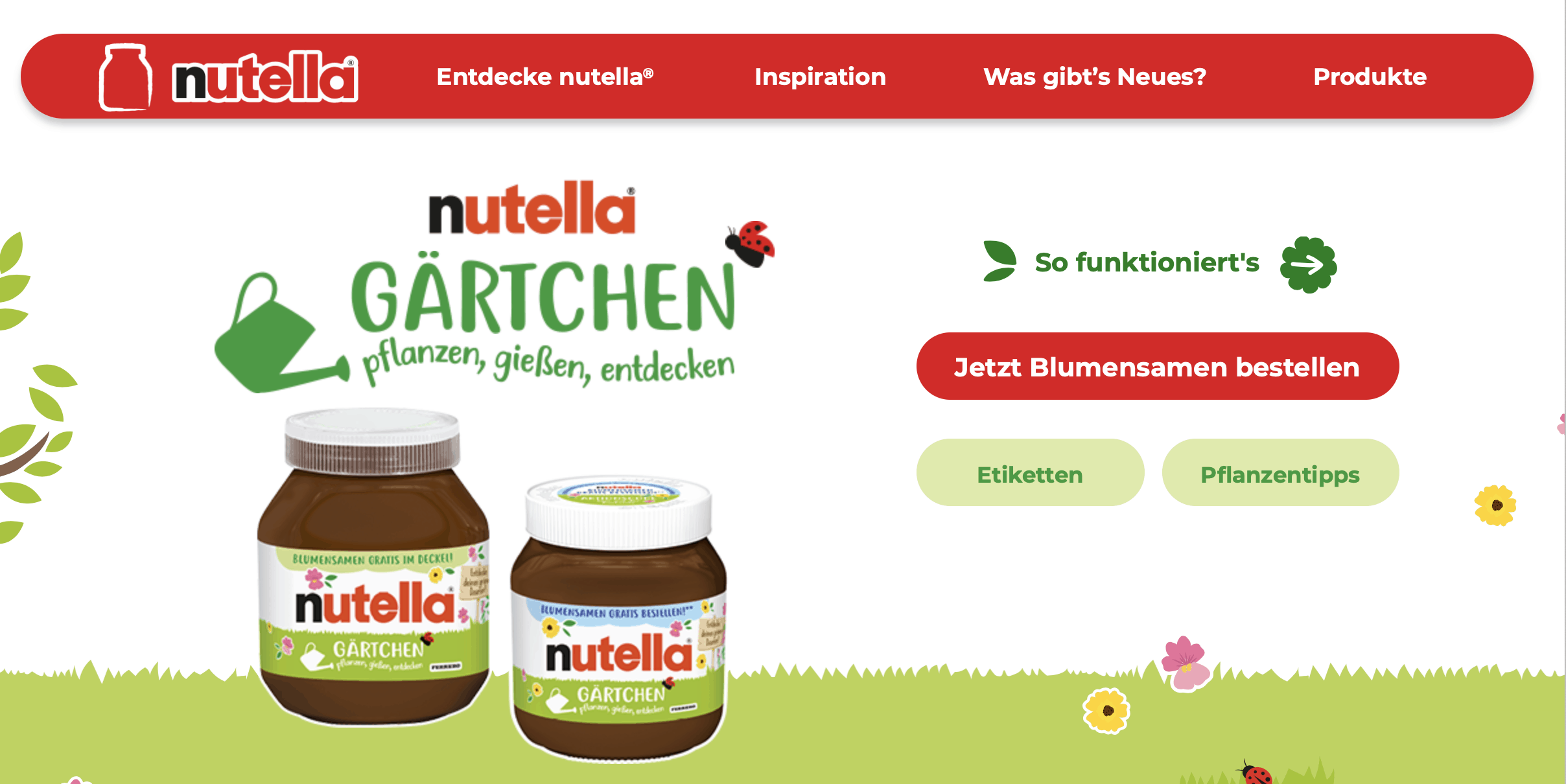 Cases POS-Zugabe-Promotions Nutella