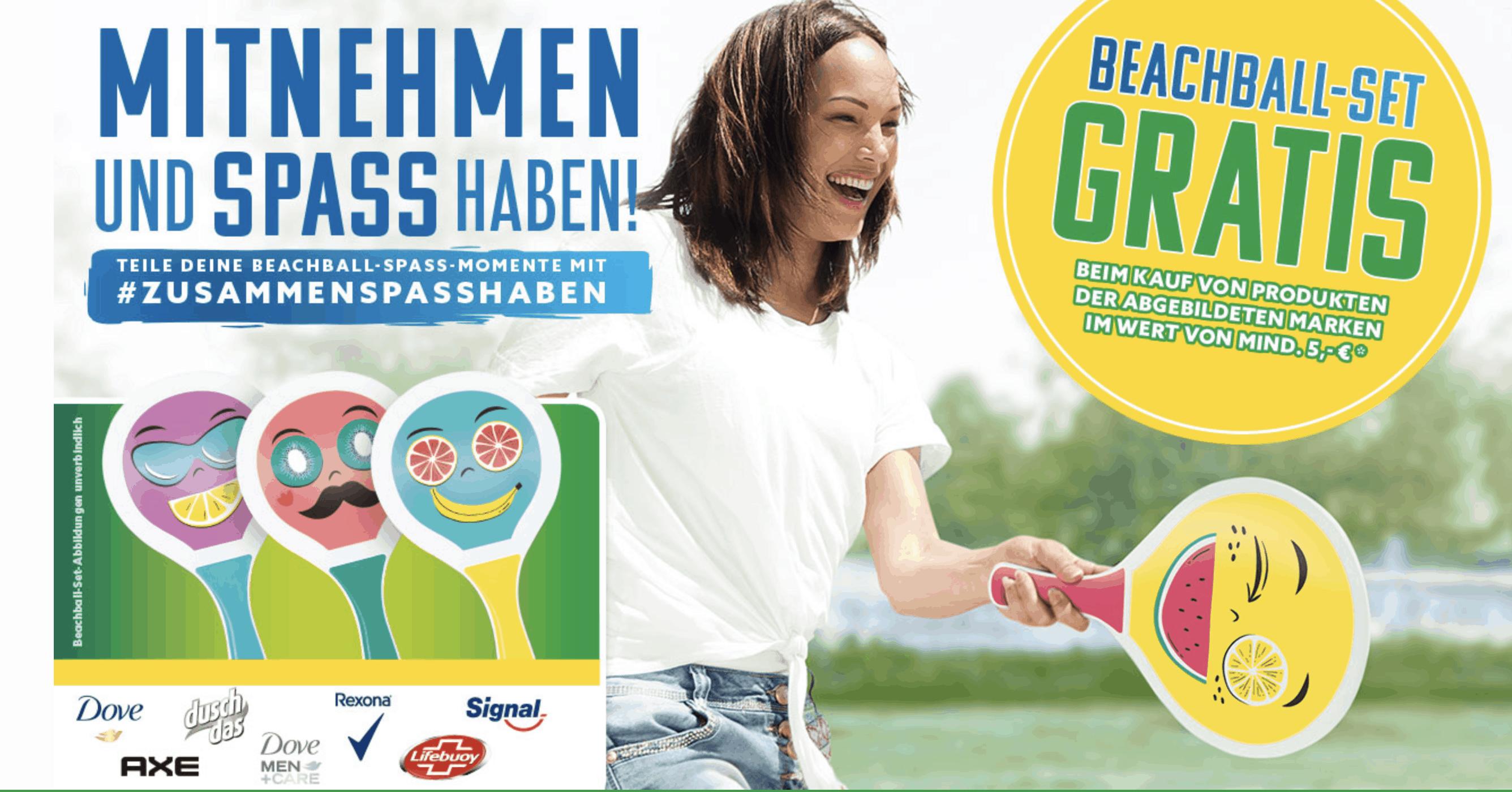 POS-Zugabe-Promotions Unilever