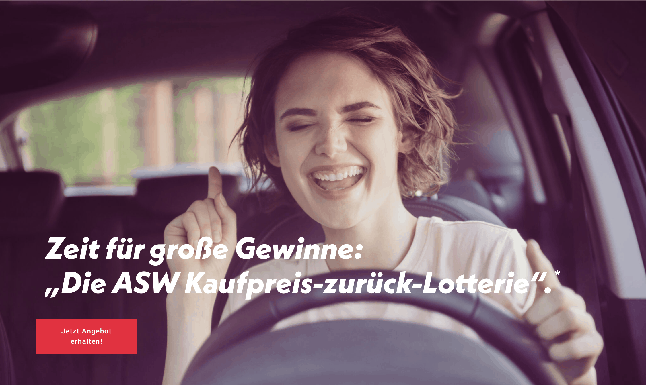 """Umschlagspiel 5 aus 10 """"ASW Kaufpreis-zurück-Lotterie"""