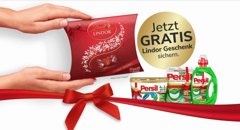 POS-Zugabe-Promotions Persil sagt Danke